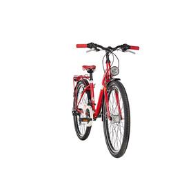 s'cool chiX 26 21-S - Vélo junior Enfant - steel rouge